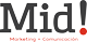 Mid! Marketing + Comunicación Logo